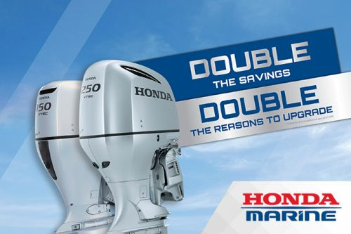 Double the Savings September 2016 with Honda Marine