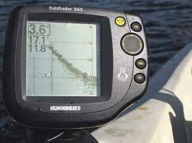 107 tow theworm echo sounder