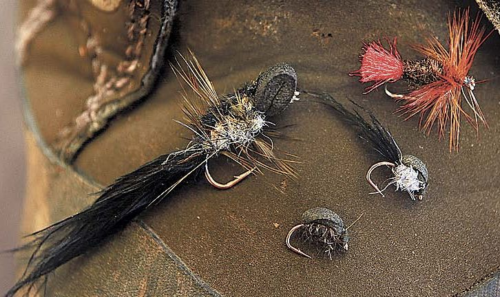 112 tailing trout flys