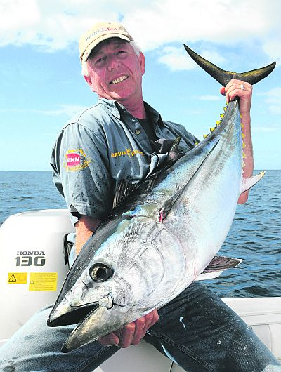 2010 game fishing season for Tuna fishing games