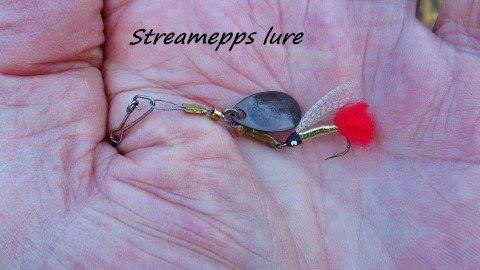 2019 04 15 Steamepps lure that caught a small brown